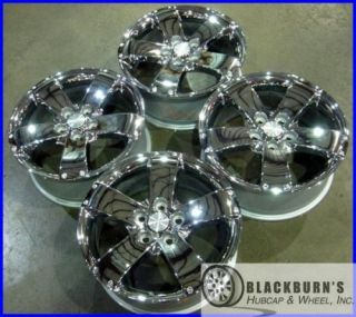 08 09 CHEVY EQUINOX 17 TAKE OFF CHROME WHEELS FATORY OEM RIMS SET 6620