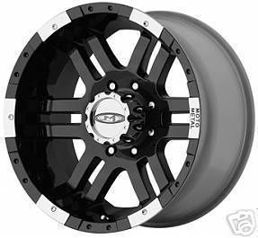 BLACK Moto Metal 951 WHEELS Chevy Dodge GMC 2500 FORD 8 LUG Truck RIMS