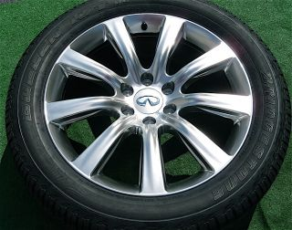 Genuine Factory 2012 Genuine Infiniti QX56 22 inch Wheels Tires