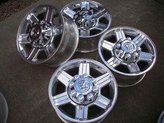 17 Dodge RAM 2500 3500 Polished Laramie Factory Wheels Rims