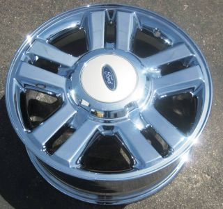 18 FACTORY FORD F150 PICKUP OEM CHROME WHEELS RIMS EXCHANGE YOUR STOCK