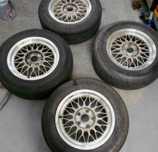 BBs Wheels Wheel Rims 5 Lug 7JX15H2ET BMW Set 4 5x115 5 5x4 5