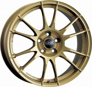 18 oz Ultraleggera Alloy Wheels and Tyres in Stunning Gold Finish