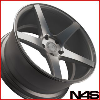 Mustang GT GT500 Avant Garde M550 Concave Staggered Wheels Rims
