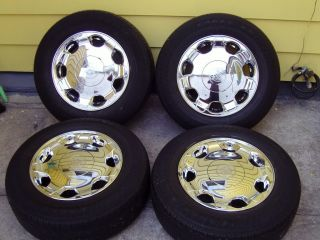 02 03 04 05 CADILLAC DEVILLE DHS FACTORY OEM STOCK 16 RIMS WHEELS TIRE