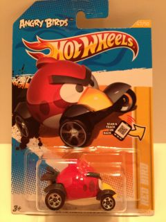 Wheels 2012 New Models Angry Birds Red Bird Vehicle Diecast Scale 1 64