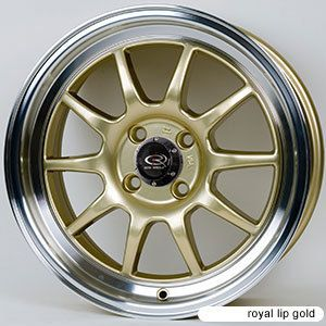 Rota GT3 15x7 4x100 ET40 67 1 Hub Gold Rims Wheels