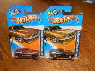 Super Secret 2012 67 Ford Mustang Coupe Hot Wheels Treasure Hunt 6 10