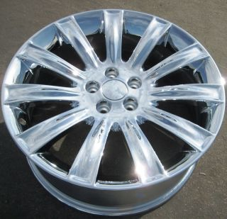 Factory Lincoln MKS MKX MKT Flex Chrome Wheel Rims 1 Single Rim