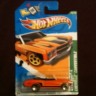 2012 Hot Wheels 70 Chevy Chevelle Convertible Treasure Hunt