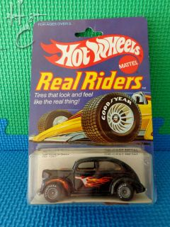 Hot Wheels 1 64 Real Riders 1982 40 Ford 2 Door 4367 Malaysia