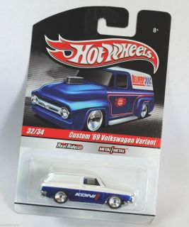 Hot Wheels Delivery Series Koni Custom 1969 69 VW Volkswagen Variant