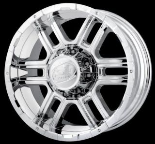Toyota Land Cruiser and Tundra Lexus LX470 Chrome Wheels Rims