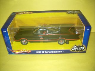 Hot Wheels 1966 TV Series Batmobile Batman 1 18 Scale SEALED