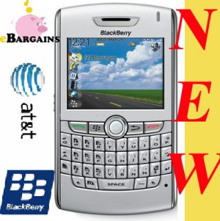 New Rim Blackberry 8820 Unlocked WiFi Cell Phone at T Silver