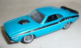 2012 Hot Wheels `71 Dodge Challenger Custom Super Treasure Hunt Real
