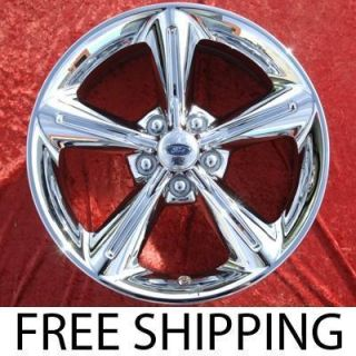 New 18 Ford Mustang GT Chrome Factory OEM Wheels Rims EXCHANGE 3834