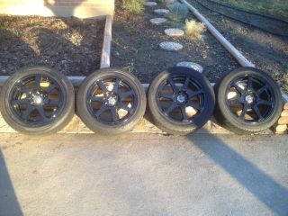 15 16 inch Wheels Tires Black Drag Falken Great Condition MR2 Spyder