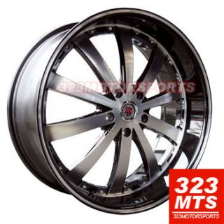 22 Wheels Range Rover Land Rover Impala 300C Rims Redsport RSW 77