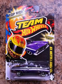 Hot Wheels Team Top Rides 73 Ford Falcon XB Card Variation Target