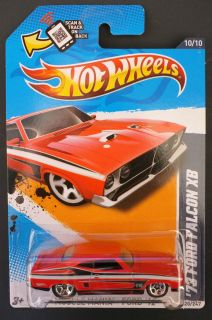 2012 Hot Wheels 120 73 Ford Falcon XB Red MOC
