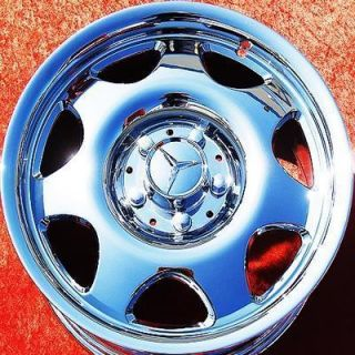 OF 4 NEW 16 MERCEDES BENZ CLK320 CLK430 OEM CHROME WHEELS RIMS 65179