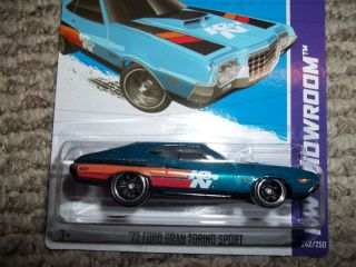 Hot Wheels 72 Ford Gran Torino Sport Super Treasure Hunt