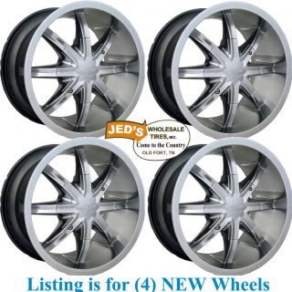 14 14X7 14x8 4 156 ATV Rims Wheels for Polaris Sportsman X2 500 550