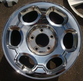 17 1998 99 00 Lincoln Navigator Chrome F85Z1007TB Alloy Wheel Rim