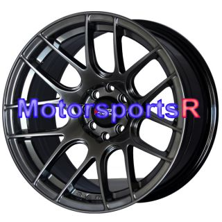 Chromium Black Concave Rims Wheels Stance 84 85 86 87 BMW E30