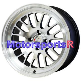 531 Machine Black Wheels Rims Deep Dish Stance 94 Honda Accord EX LX