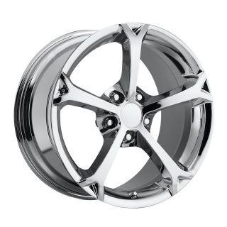 Sport C6 Z06 Corvette Chrome Wheels Rims for A C5 17x8 5 18x9 5