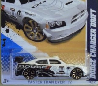 Hot Wheels 2012 Dodge Charger Drift 97 247 New
