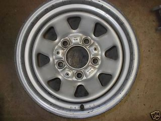 87 88 89 90 91 Ford F150 Bronco Steel Wheel Rim 15