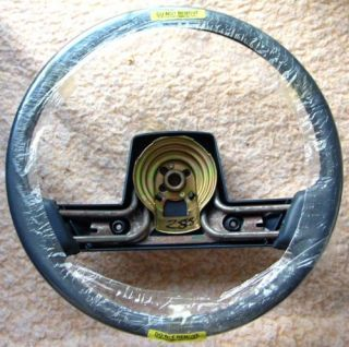 Leather Steering Wheel 88 89 90 Original GM New Old Stock