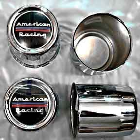 Four Lug 2 95 Bore American Racing Chrome Steel Wheels 1295002