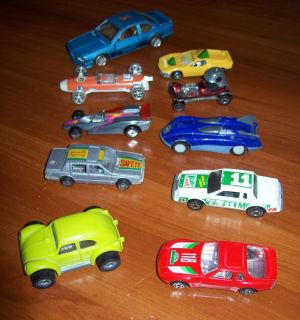 10 Diecast Metal Cars Hot Wheels tonka Roadster Racecars Mountain Dew