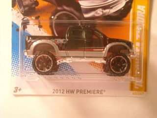 2012 Hot Wheels 10 Toyota Tundra Error