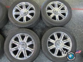 Four 99 13 GMC Denali Sierra Yukon Factory 20 Wheels Tires Rims 5304