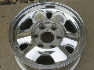 16 GMC Factory Original Stock Aluminum Alloy Wheel Rim 5095 3