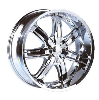 26 Wheels Rims Package Free Tires Borghini Bentchi B7 Triple Chrome