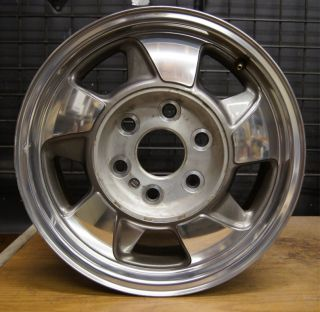 Chevy Tahoe Suburban Polished 16 Factory OEM Wheel Rim 00 03 Aluminum