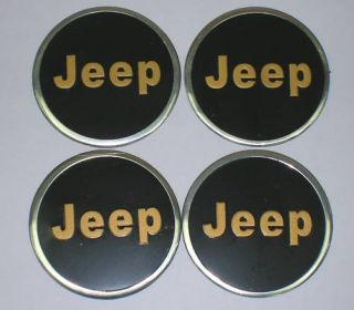 Wheel Center Cap Stickers Jeep 55mm