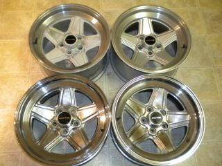 W116 W123 R107 W109 AMG Penta 16x8 Et 11 5 Spoke Alloy Wheels