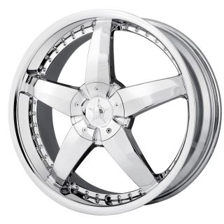 20 inch DIP Laser Chrome Wheels Rims 5x115 300C AWD Charger AWD Magnum