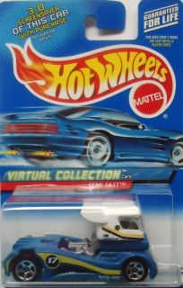 2000 Hot Wheels Virtual Semi Fast Col 118 Malaysia Base