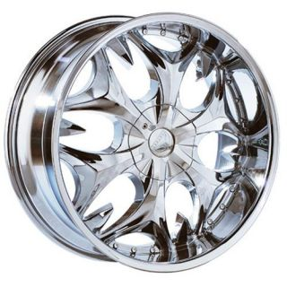 22 inch B3 Chrome Wheels Rims Chrysler 300C 5x115