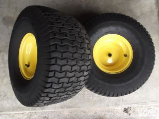 John Deere L100 L108 L110 L118 Rear Rims and Tires