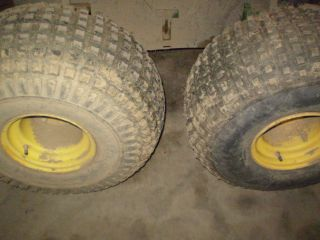 John Deere Gator AMT 622 Rims and Tires