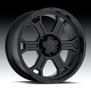 Raptor 372 Black Suburban Tahoe Yukon Jeep 5x127 Wheels Rims